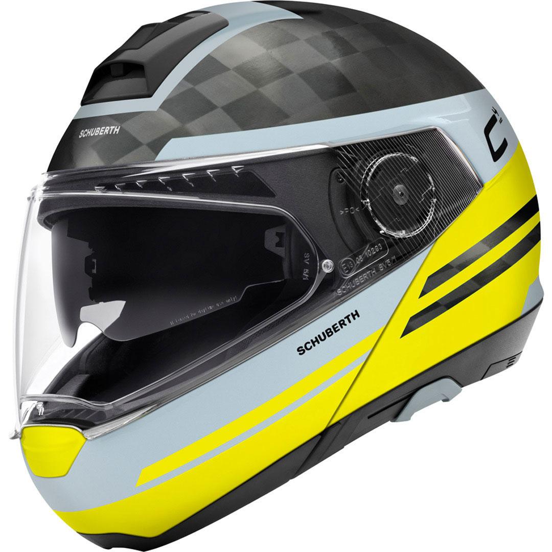 Schuberth C4 Pro Carbon Tempest Yellow