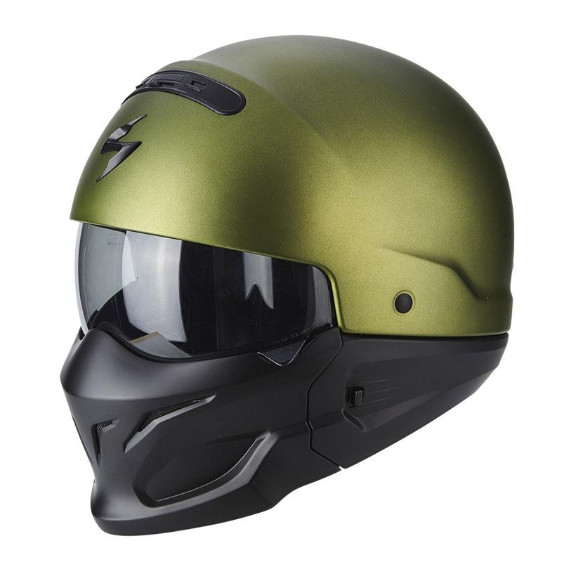 Scorpion Exo-combat Solid Verde Matt