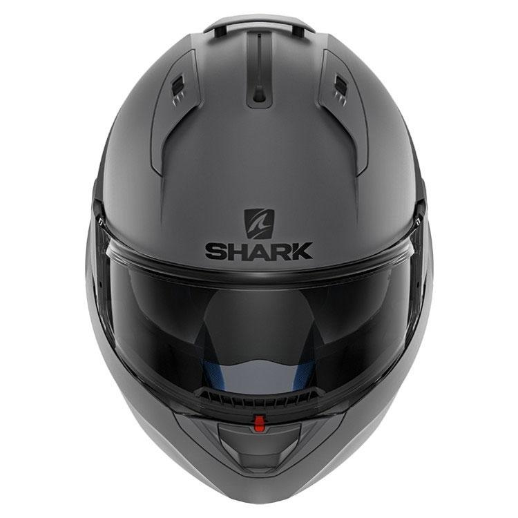 shark evo one 2 anthracite matt motostorm. Black Bedroom Furniture Sets. Home Design Ideas