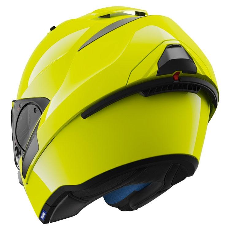 shark evo one 2 hi visibility fluo yellow motostorm. Black Bedroom Furniture Sets. Home Design Ideas
