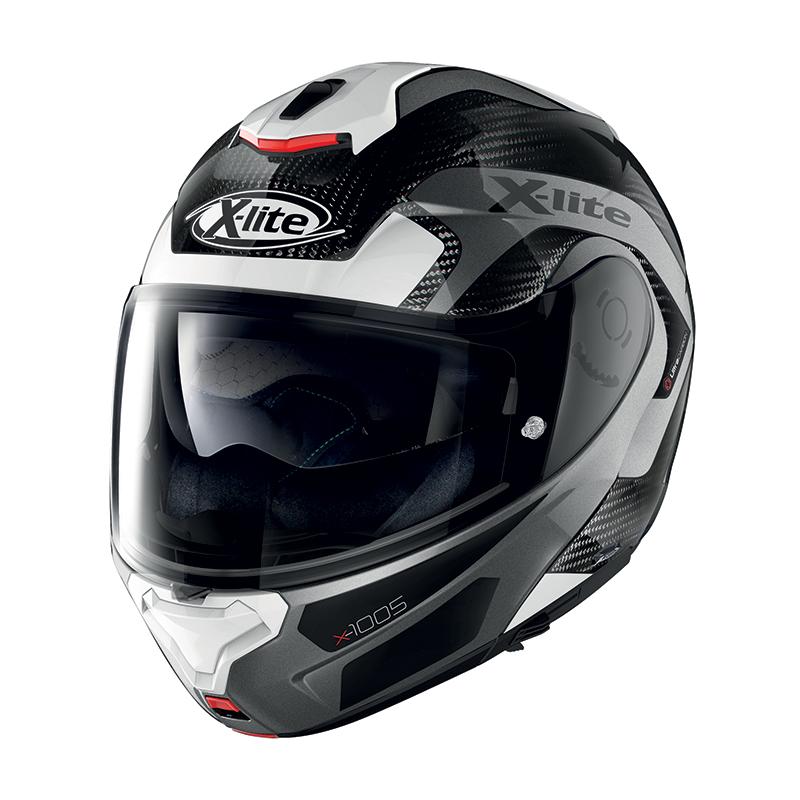 X-lite X-1005 Ultra Carbon Fiery N-com Bianco Nero