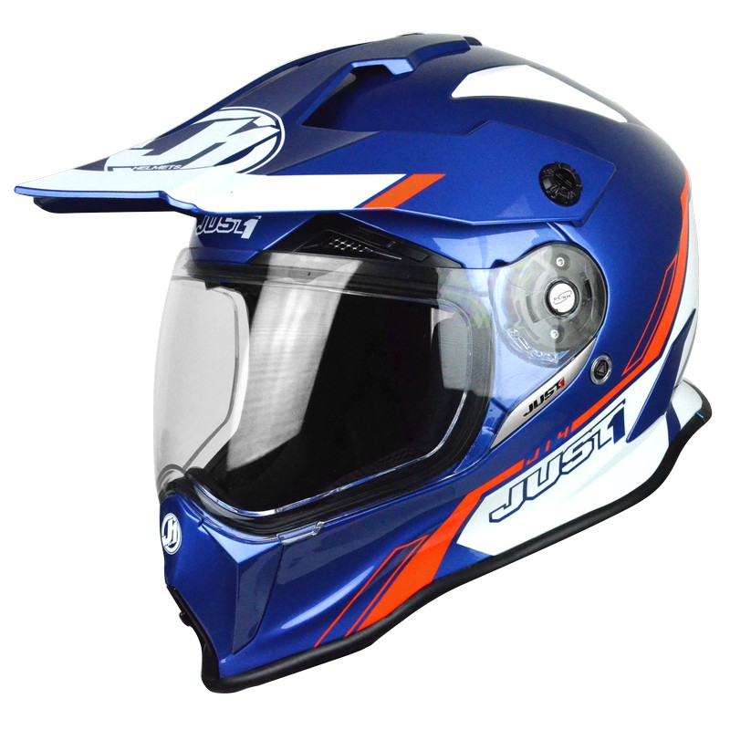Just-1 J14 Carbon Line Blue