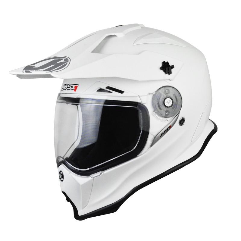 Just-1 J14 Carbon Solid White Matt