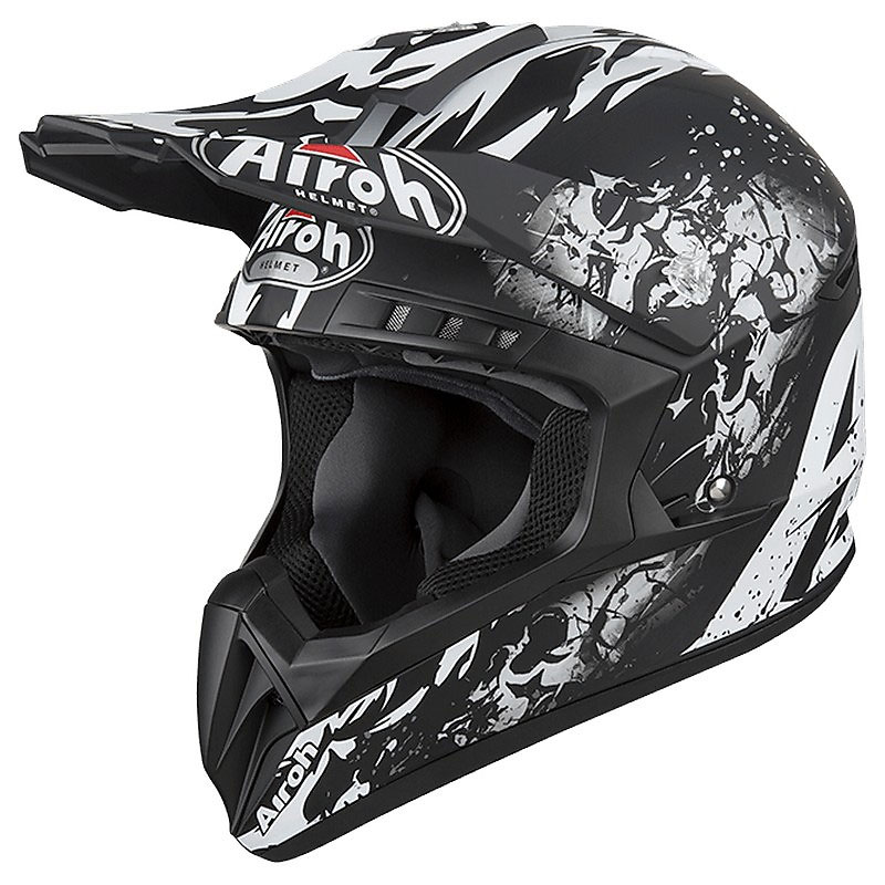 Casco Motocross Airoh Switch Backbone
