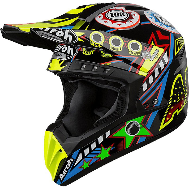 Casco Motocross Airoh Switch Flipper