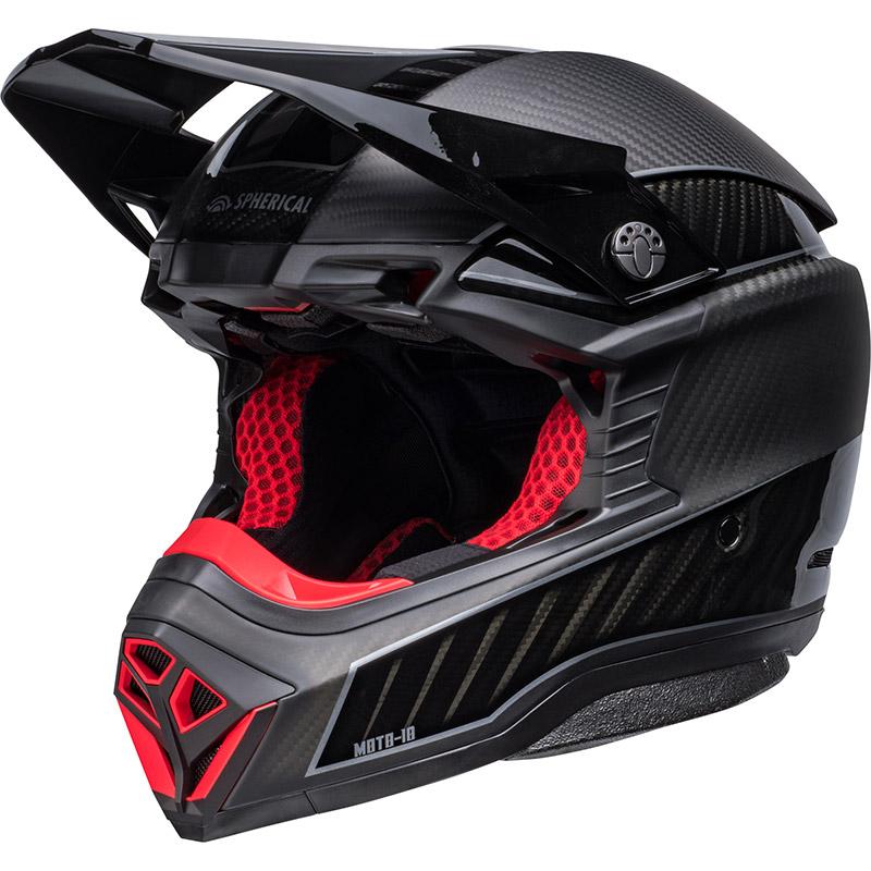 Casco Bell Moto-10 Spherical Rhythm Ltd Nero