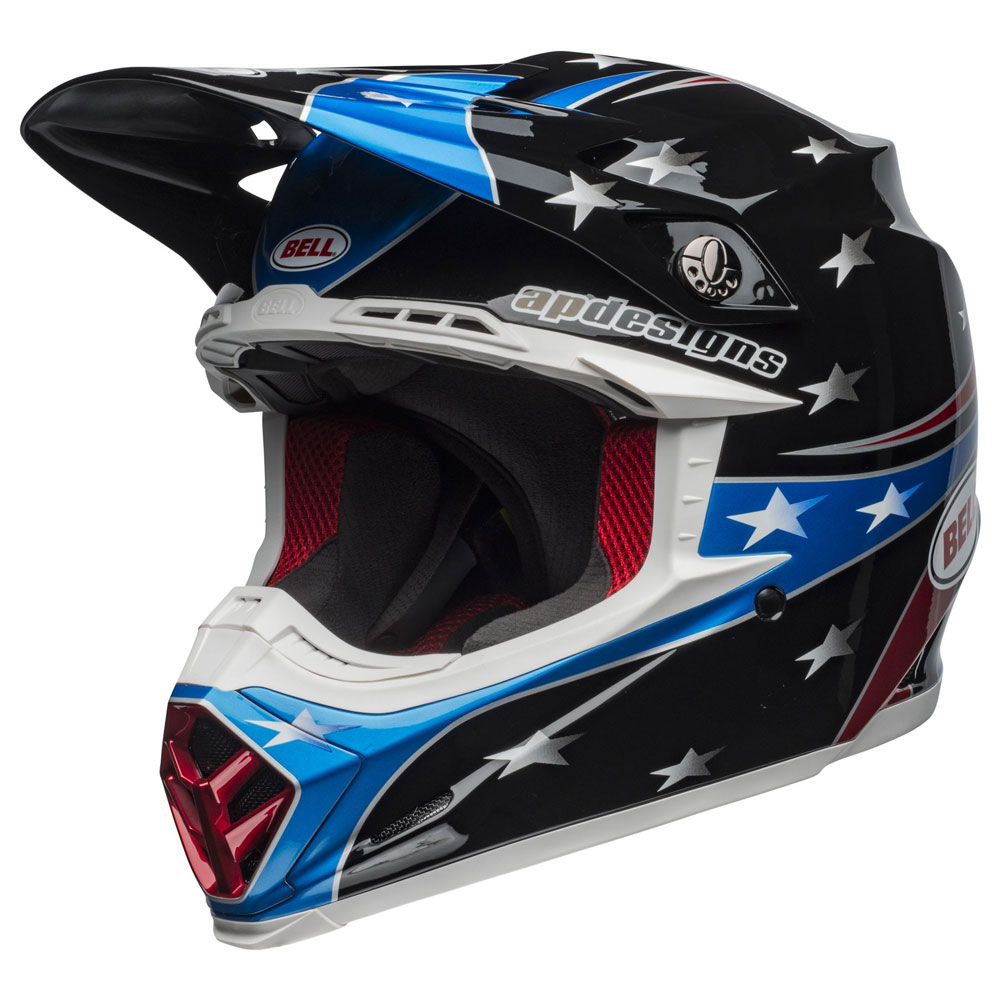 Casco Cross Bell Moto 9 Mips Tomac Replica Eagle