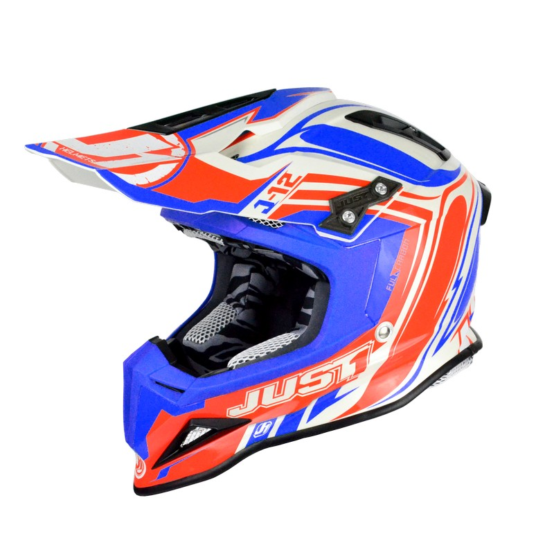 Just-1 J12 Flame Red Blue
