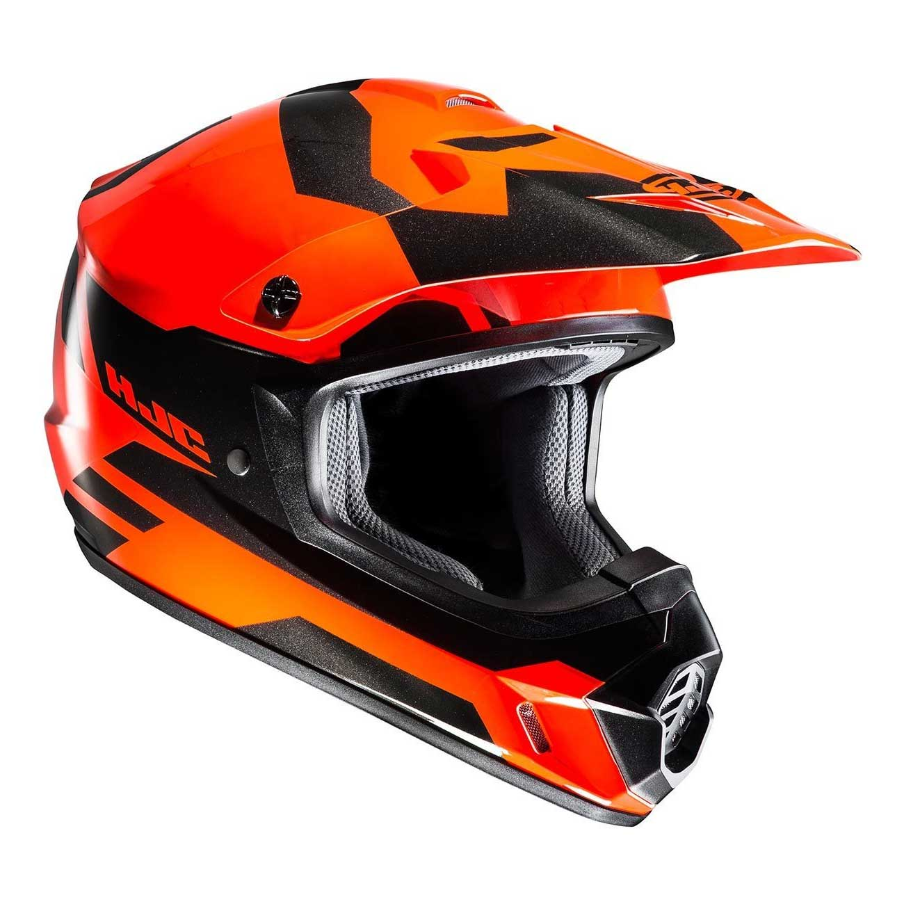 hjc cs mx 2 pictor mc4h helmet orange hjc 177604 mc4h. Black Bedroom Furniture Sets. Home Design Ideas
