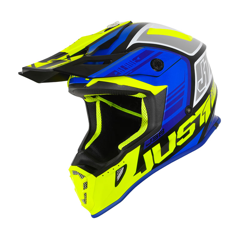 Just-1 J38 Pro Blade Giallo Fluo Blu