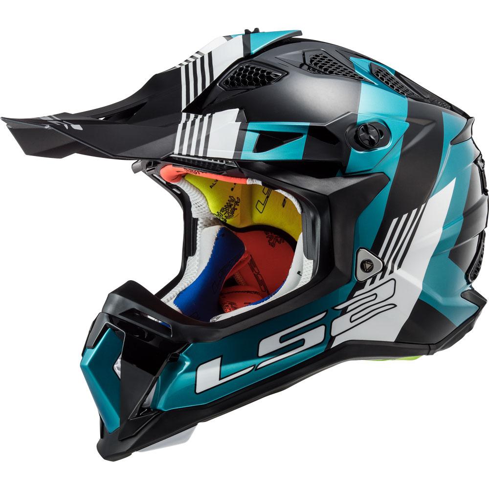 Ls2 Mx470 Subverter Max Nero Turquoise