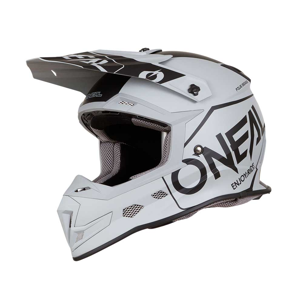 O'neal Casco 5 Series Hexx 2019 Grigio