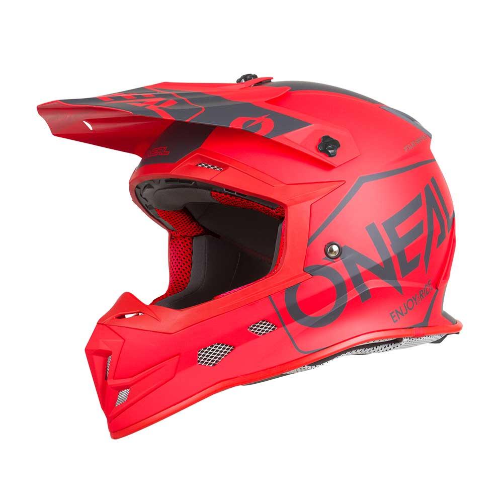 O'neal Casco 5 Series Hexx 2019 Rosso