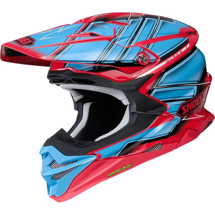 Shoei Vfx Wr Glaive Tc1 Sh Vfx Wr Glaive Tc1 Offroad Helmets Motostorm