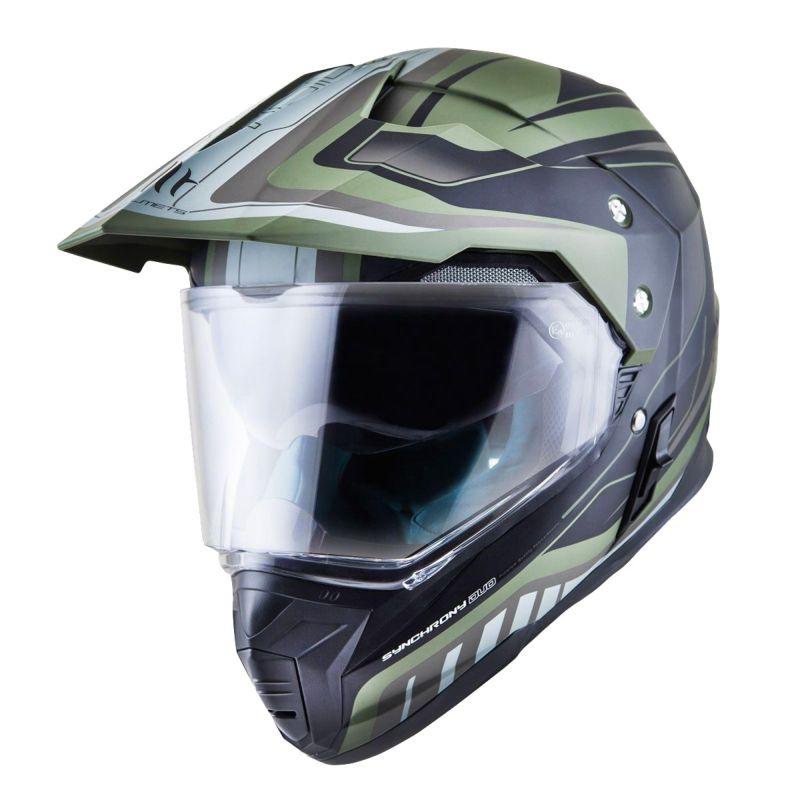 Mt Helmets Sinchrony Duo Sport Sv Tourer Verde
