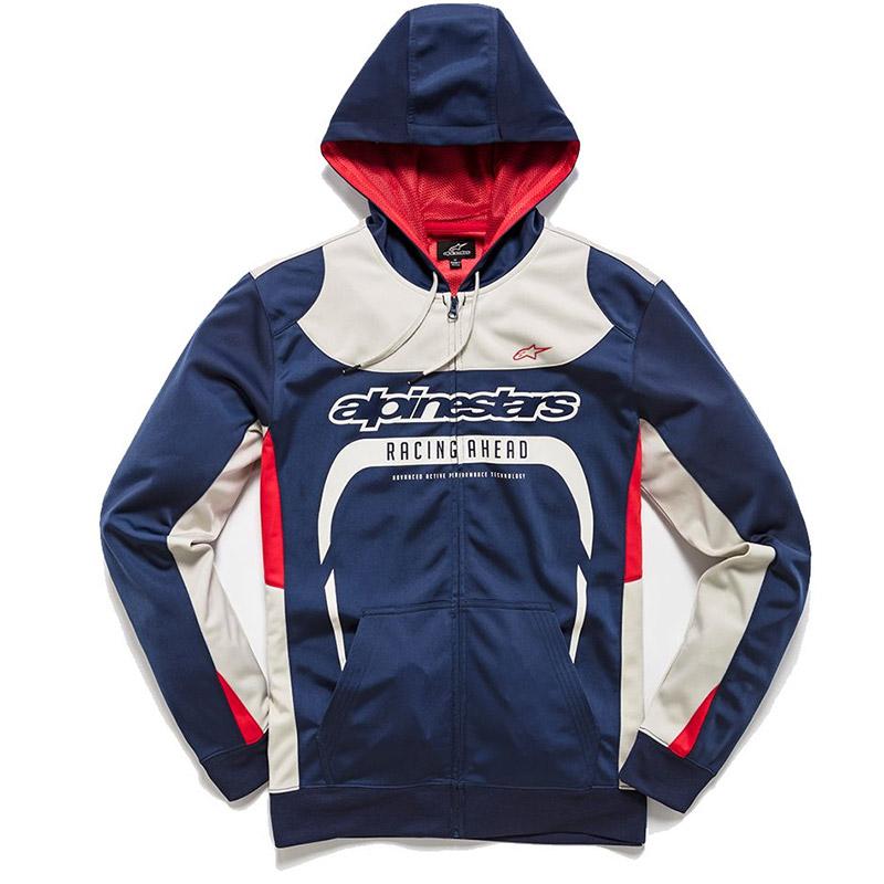 Fox Racing Honda Zip Hooded Sweatshirt Black   Fox racing