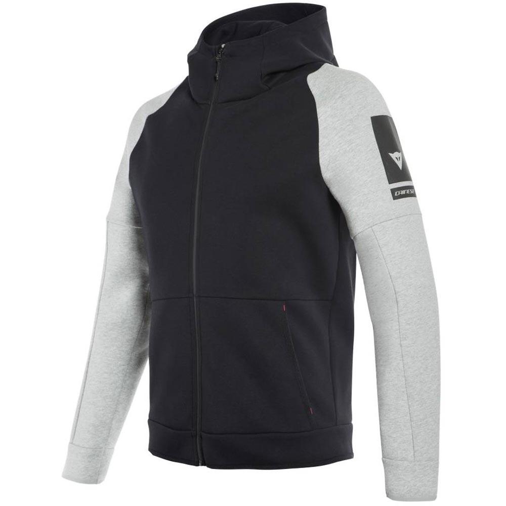 Dainese Full Zip Sweatshirt schwarz grau