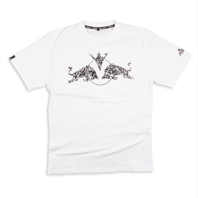 Kini Red Bull Tricks Tee White -