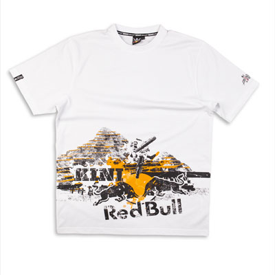 Kini Red Bull Rock Tee White -