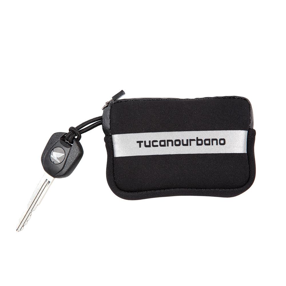 Tucano Urbano Neopren Schlüsseltasche schwarz