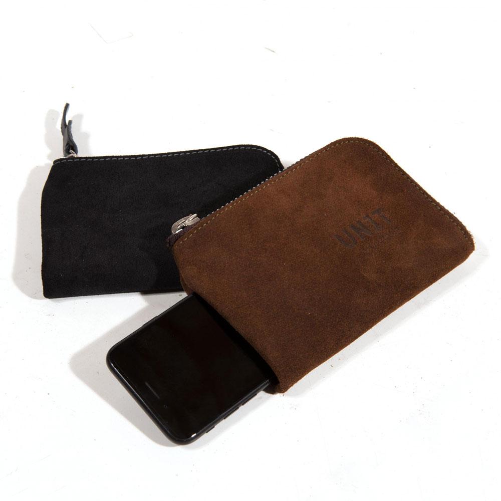 Unit Garage Phone Holder And Wallet U020 Brown