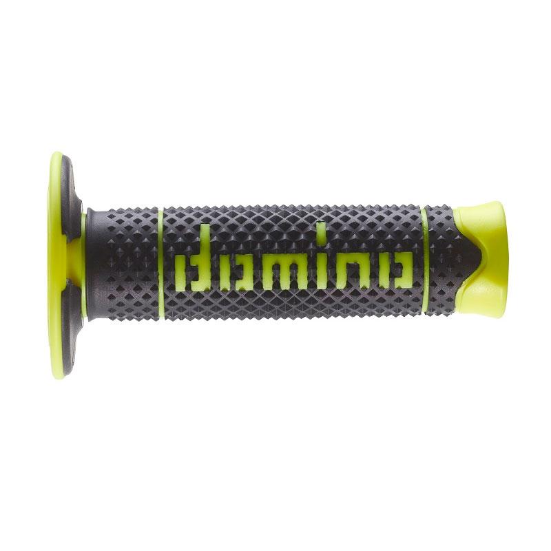 Coppia Manopole Domino A26041c Dsh Giallo Fluo