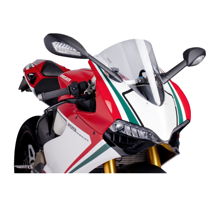 PUIG Racing Screen for DUCATI 899/1199 PANIGALE/R/S-1199 SUPERLEGGERA 12-14