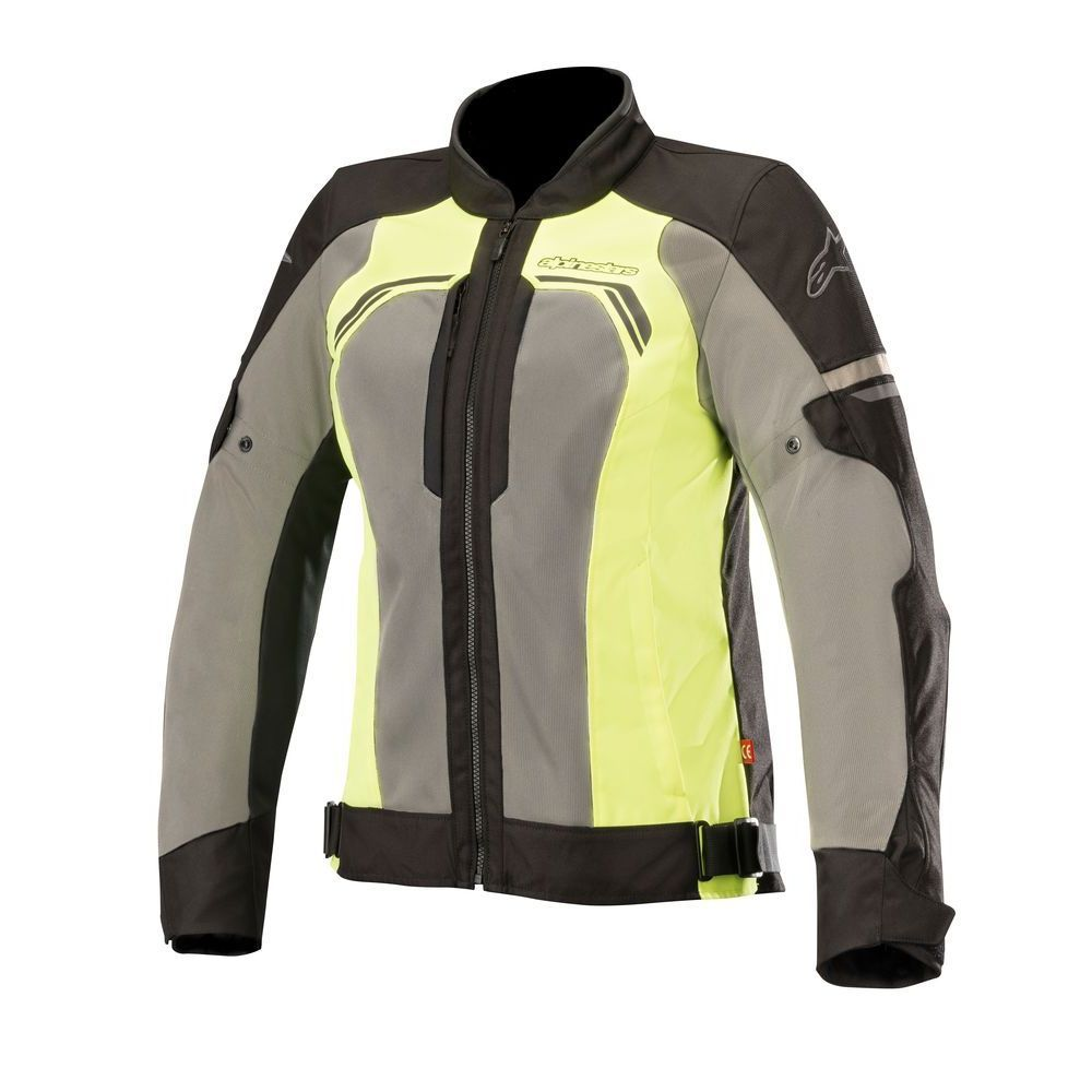 Alpinestars Stella Durango Air Jacket  Black Dark Gray Yellow Fluo