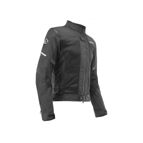 6631198d Acerbis Ramsey My Vented 2.0 Black Jacket 2018 AC-0022648-090 ...
