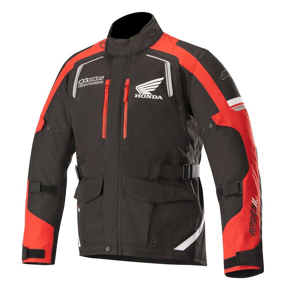 Alpinestars Giacca Honda Andes V2 Drystar® Nero Rosso