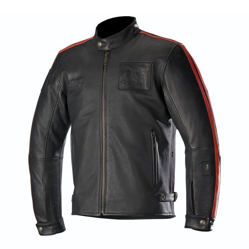 Alpinestars Charlie Leather Jacke Tech-Air kompatibel