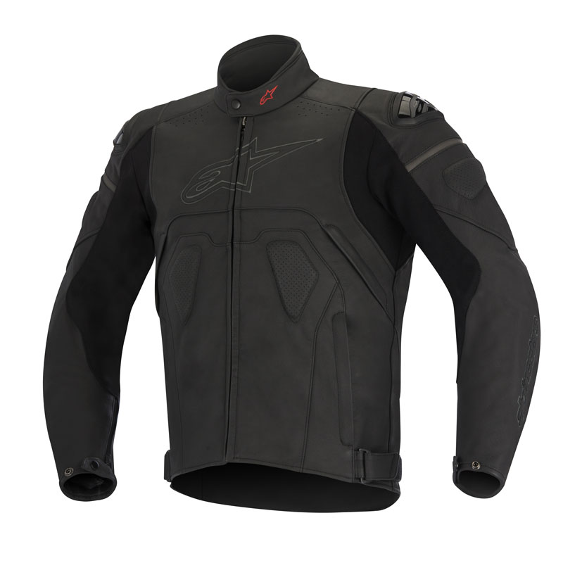 alpinestars giacca in pelle core motostorm. Black Bedroom Furniture Sets. Home Design Ideas