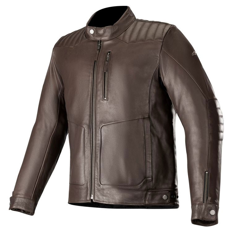 Alpinestars Crazy Eight Lederjacke braun