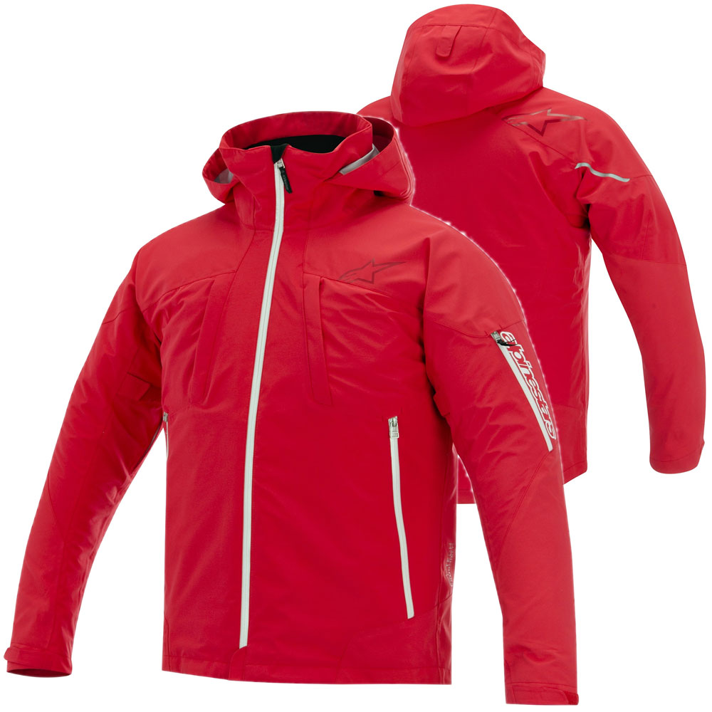 Alpinestars Lance 3l Waterproof Jacket Red | MotoStorm