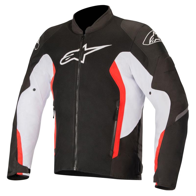 enorme sconto 1ab45 19ec2 Giacca Moto Alpinestars Viper V2 Air Bianco Rosso