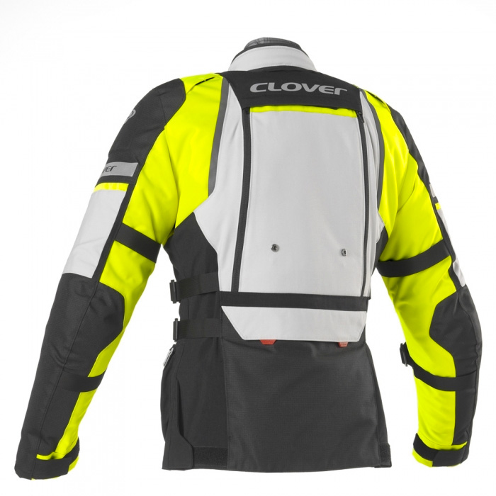 Giacca Clover Gts 4 Wp Airbag Compatibile Blu