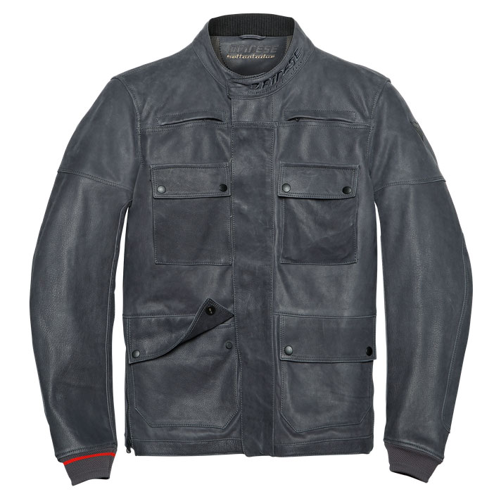 premium selection 101a0 41f7c Dainese Giacca Di Pelle Kidal
