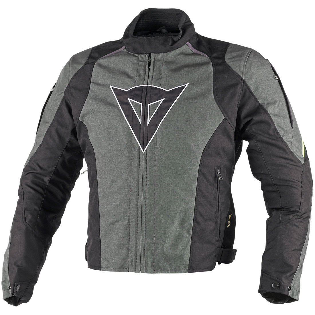 Dainese Laguna Seca D-dry Jacket Grey Fluo Yellow