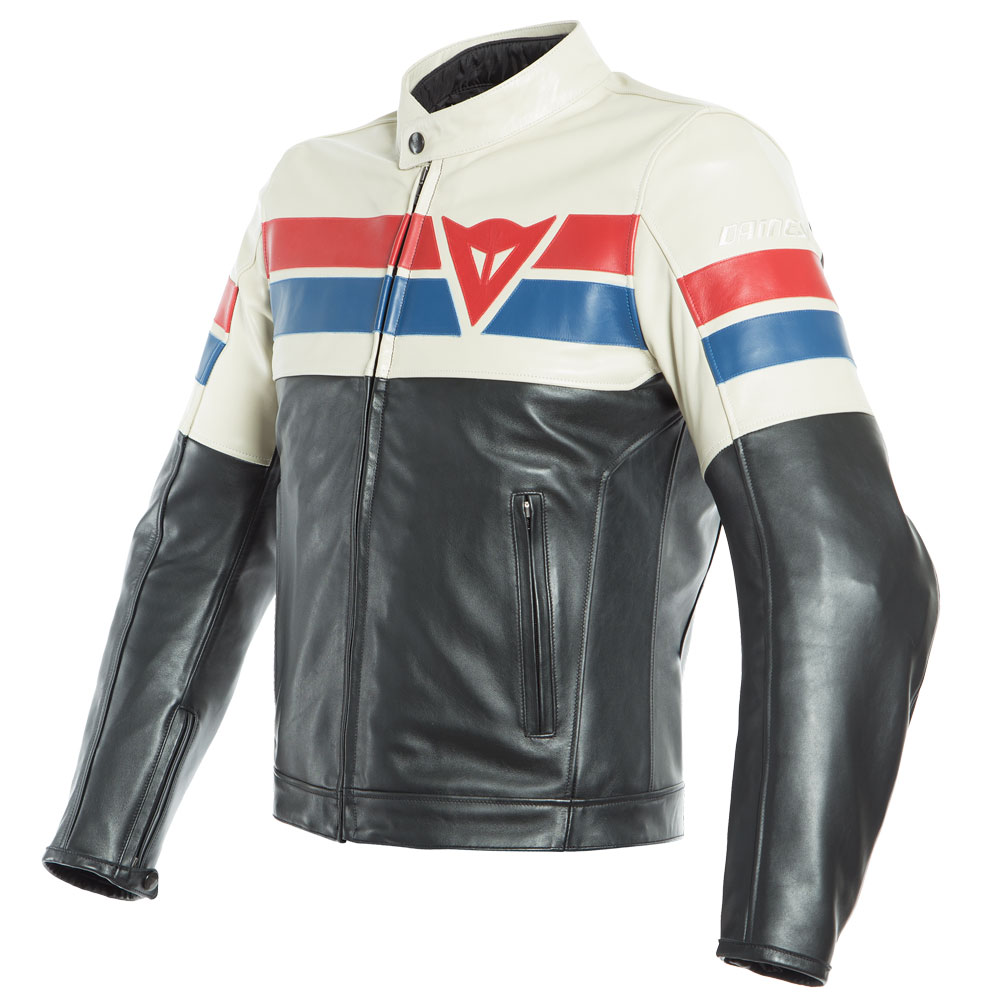 ddb19f3c8 Dainese 8-track Leather Jacket White