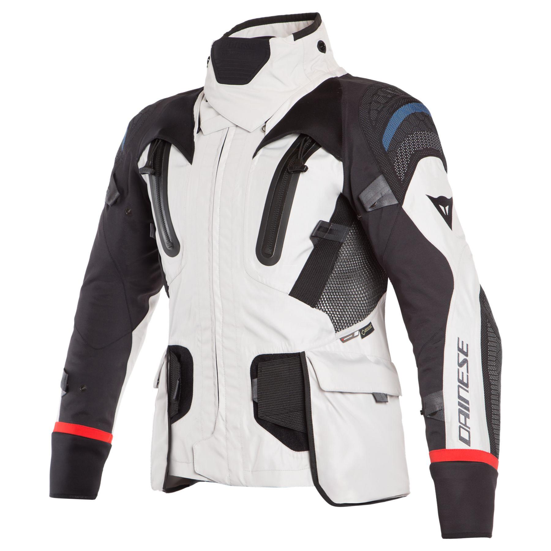 Dainese Antartica Gore Tex Jacket Light Gray Black