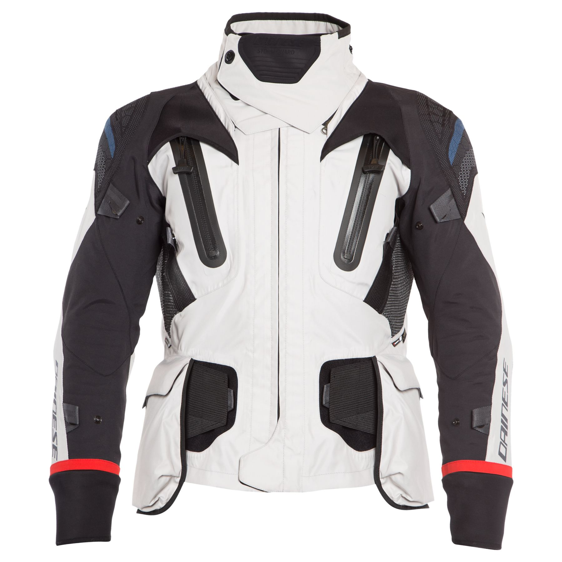 Dainese Antartica Gore Tex Jacket Light Gray Black