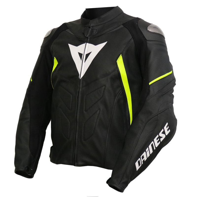 Alpinestars Devon Air Mens Leather Jacket Black//White 50 EUR