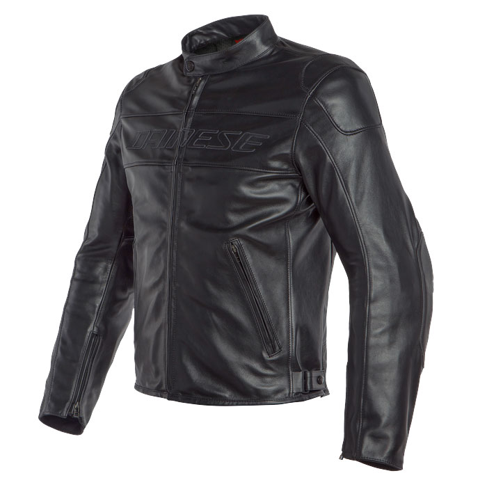 Dainese Giacca In Pelle Bardo Nero