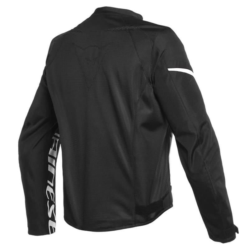 Dainese Bora Air Tex Jacket Black White Da1735210 622