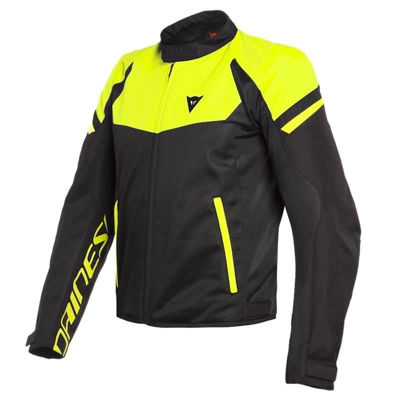Dainese Bora Air Tex Jacket Yellow Da1735210 620 Jackets