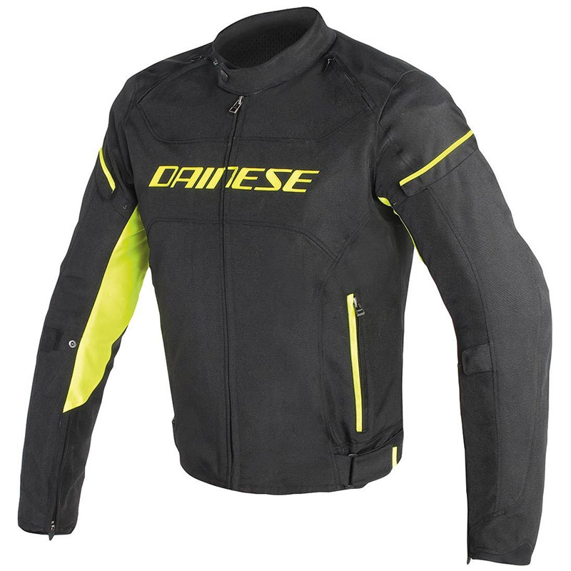 Dainese D Frame Tex Jacket Yellow Da1735191 N49 Jackets