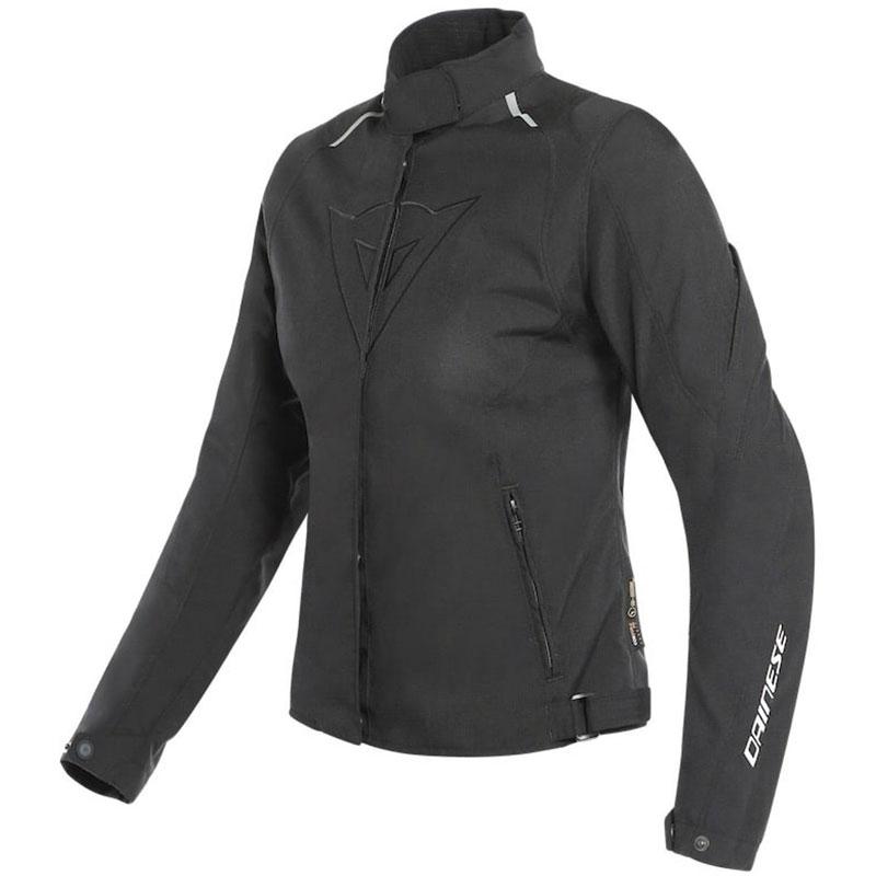 Dainese Laguna Seca 3 Dame D-Dry Jacke schwarz