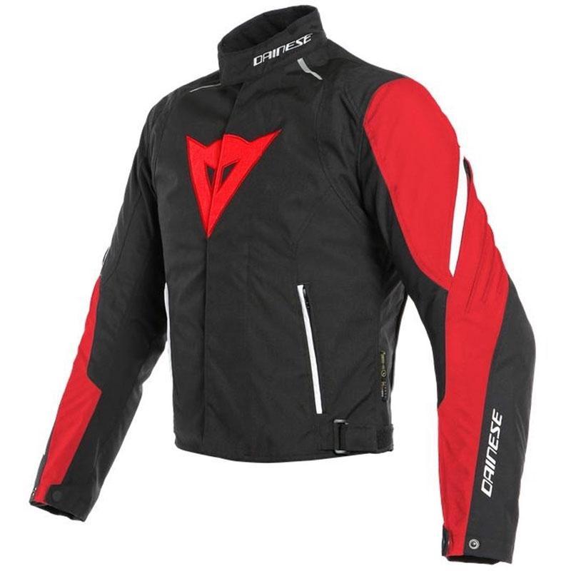 Dainese Laguna Seca 3 D-Dry Jacke rot schwarz