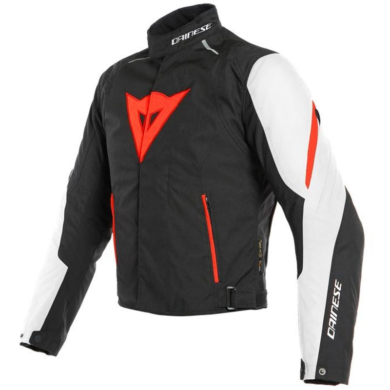 Dainese Laguna Seca 3 D-Dry Jacket weiß schwarz