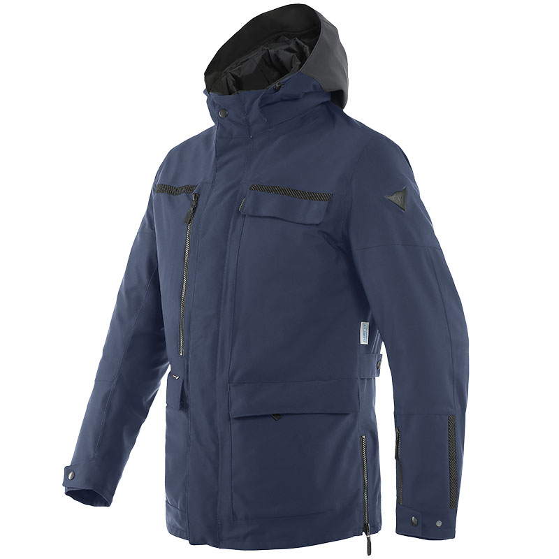 Dainese Milano D-dry Jacket Blue Iris
